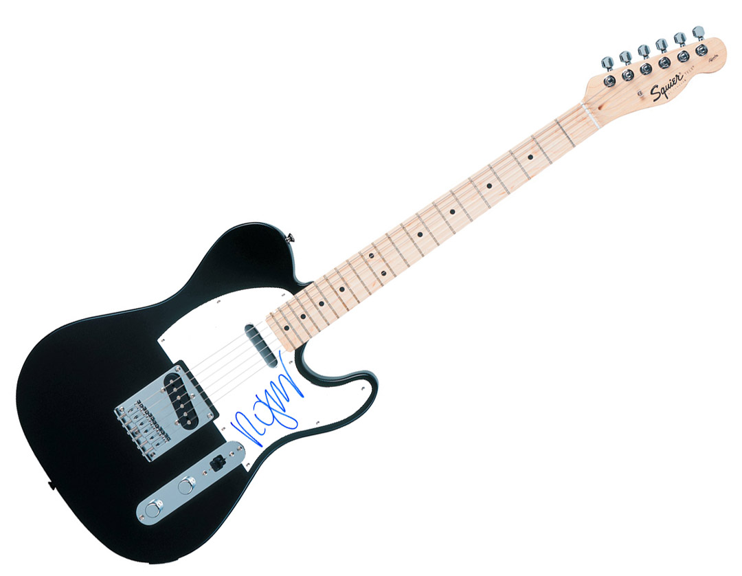 Details about The Cure Robert Smith Autographed Signed Fender Tele Guitar  AFTAL